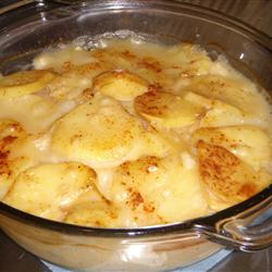 Cheese Scalloped Potatoes - Quick Cheese Casserole