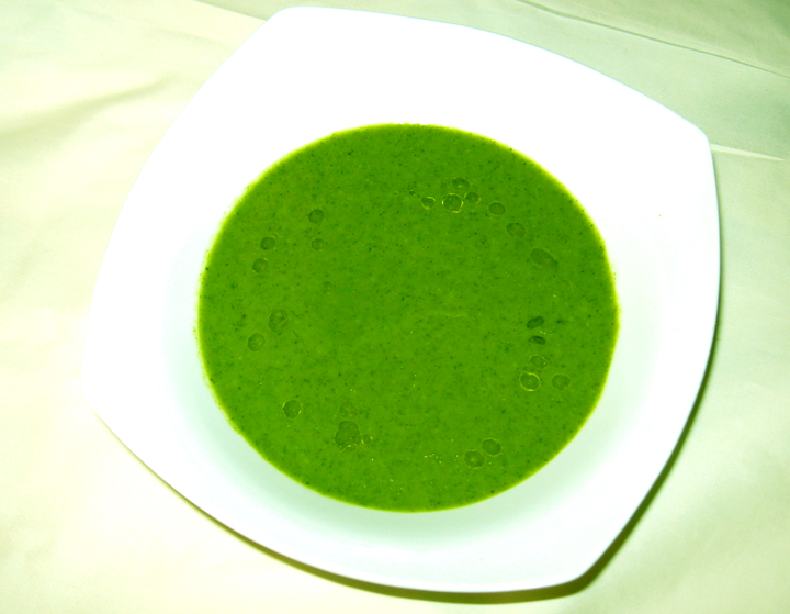 Korean Spinach Soup Watercress And Spinach Soup