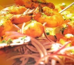 Prawn Kebabs - Delightful Prawns Starters