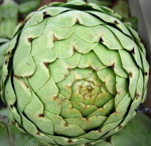 How to clean artichoke