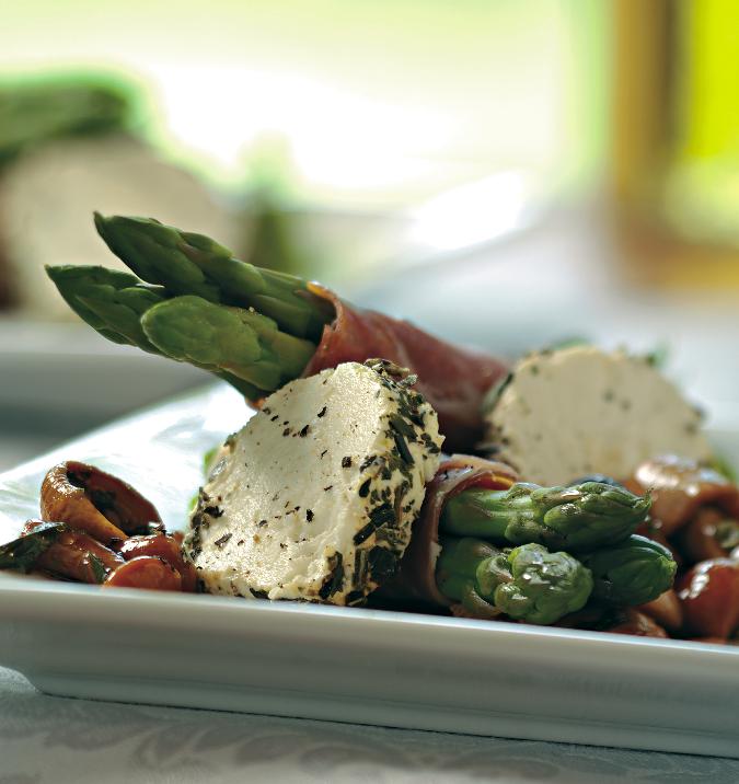 Goat Cheese And Asparagus Macaroni Salad Recipes — Dishmaps