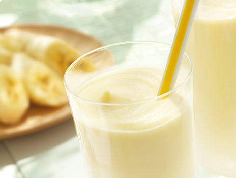 Banana milk is good for bone health
