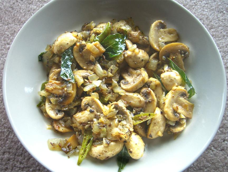 Mushroom Pepper Fry Recipe by Sarita.Bhandarkar | iFood.tv