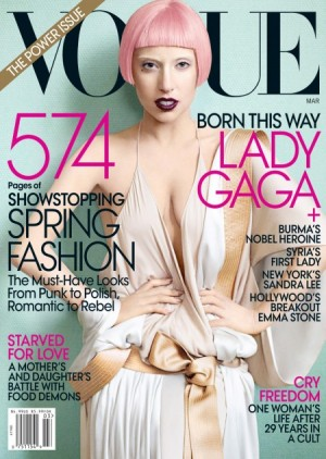 Vogue Cover-Lady Gaga