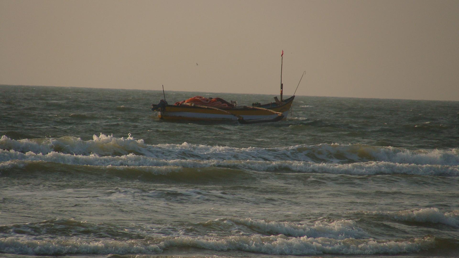 A goan fishing boat
