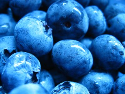 Effects on antioxidant properties of blueberries