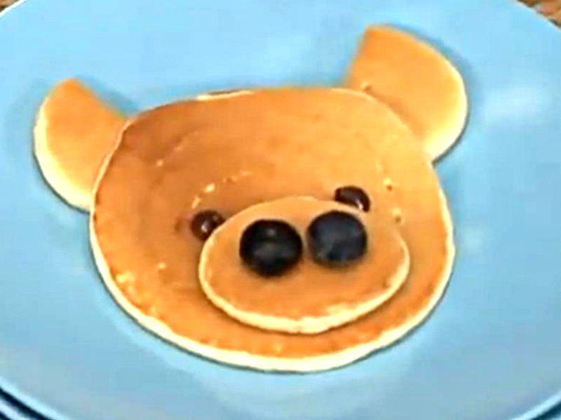 How To Make Pancakes In Fun Shapes For Kids Video by Howdini | iFood.tv