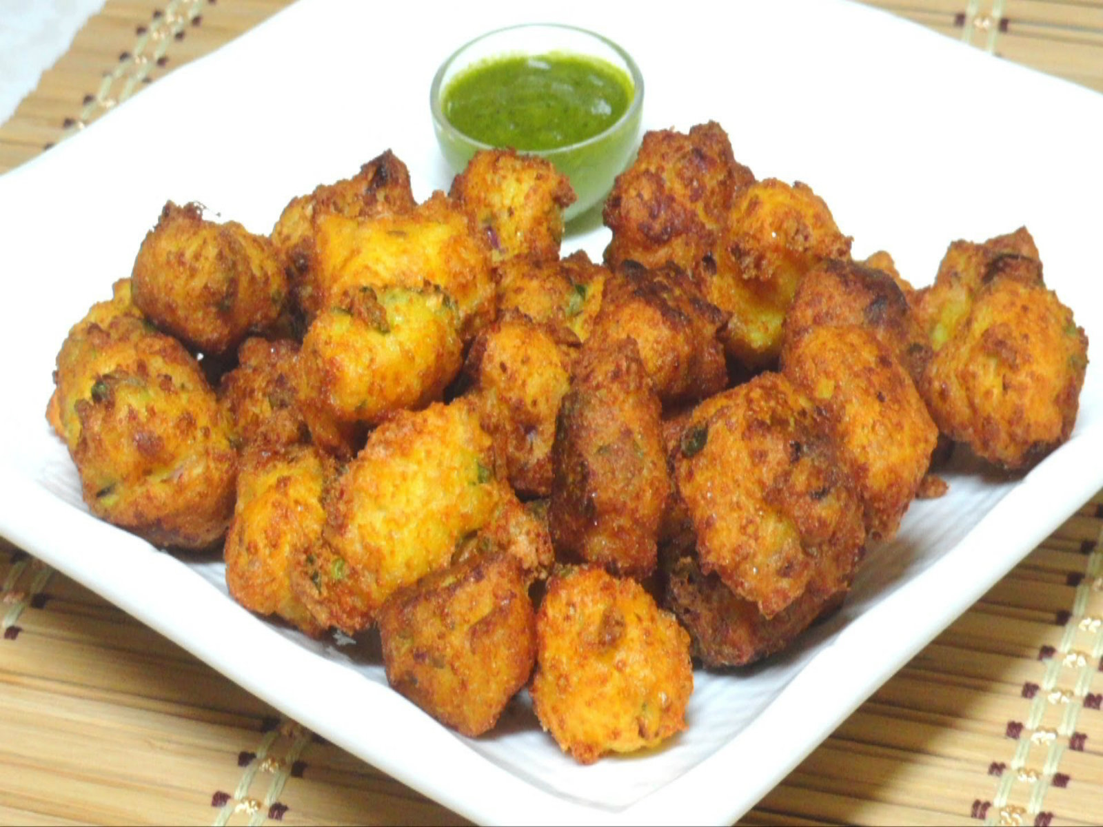 Cottage Cheese Fritters Paneer Pakodas Recipe Video By