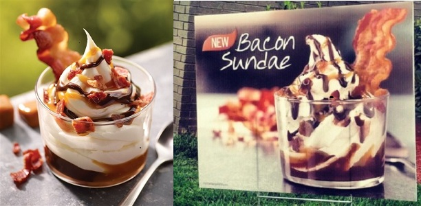 Bacon Sundae