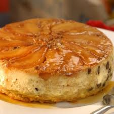 Pudding from oven