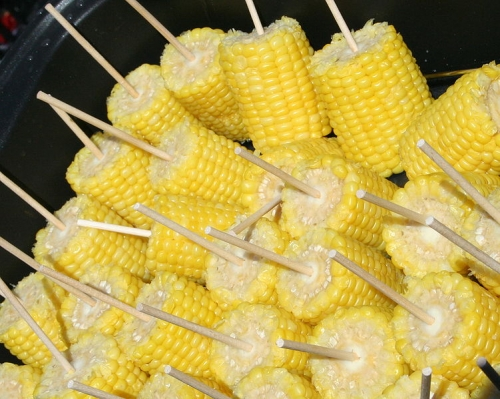 Corn On The Cob - Healthy Summer Party Appetizers
