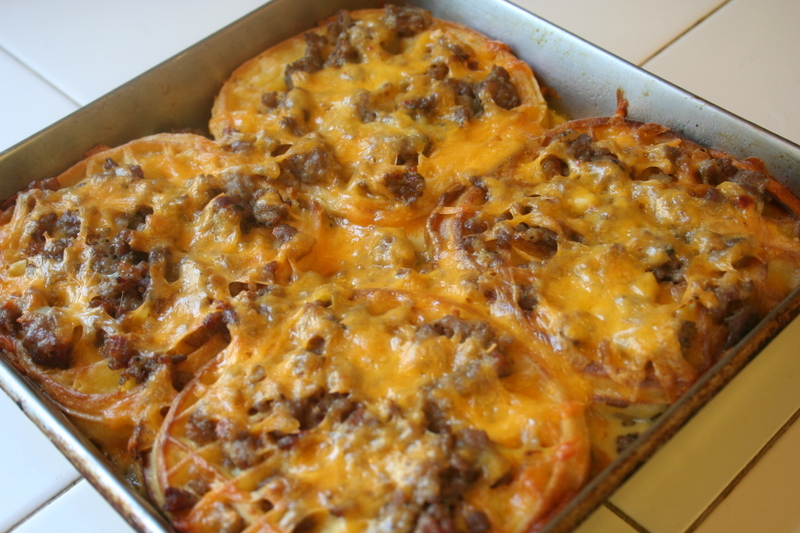 Spicy Sausage Casserole - Breakfast Rice Casserole Ideas