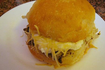 Vastedda or cow Spleen sandwich
