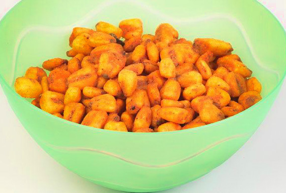 Bowl of delicious corn nuts