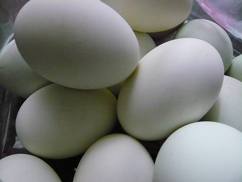 Cleaning of eggs