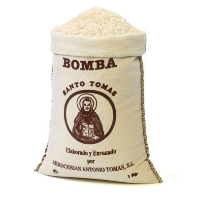 Bomba Rice D.O in Textile Bag - RC003