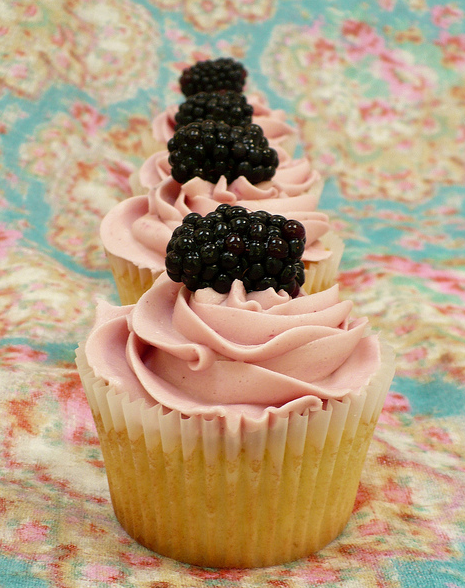 Blackberry Cupcake Recipes