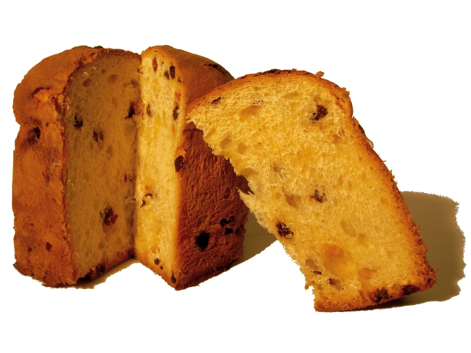 Eating Panettone