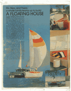 House & Garden 1975 | A Floating House