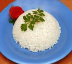 Rice Diet Menu