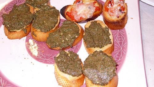Roasted Mushroom Crostini - Delicious Mushroom Starters
