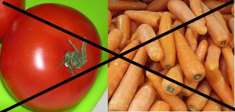 No to Veggies