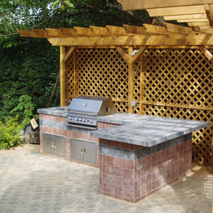 Easy way to learn how to build a bbq for home grilling purpose