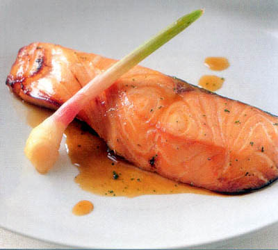 Baked Fresh Salmon can be one of the Father's Day dinner recipes