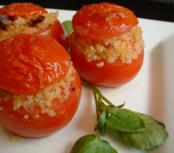 Herbed stuffed tomatoes