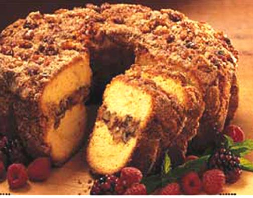 Apple Crown Coffee Cake