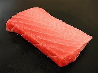 cut tuna