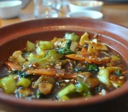 Basil dish