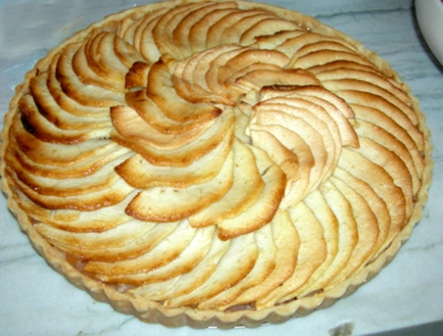 French_apple_tart