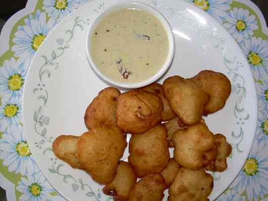 Mysore bonda - dumpling made with flour