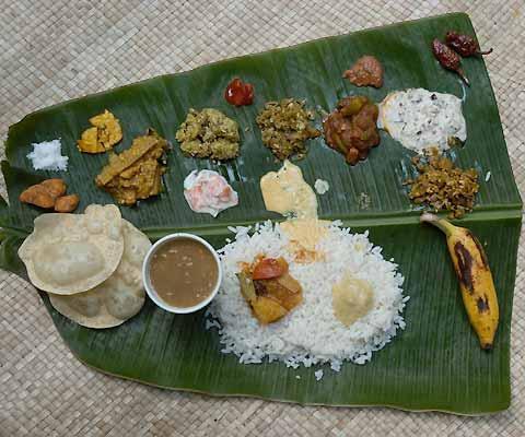 Kerala Menu
