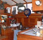 Cook on boat