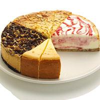 cheesecake gift platter