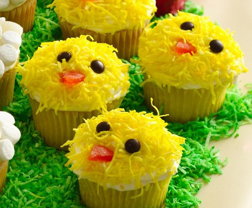 Kid's Easter Cakes