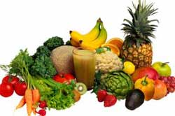 Green vegetables and fruits are a great source of Vitamin D3