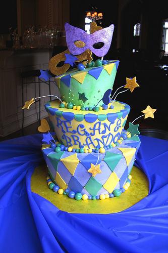 Mradi gras cake