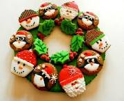 Ideas for cute Christmas cookies fro kids