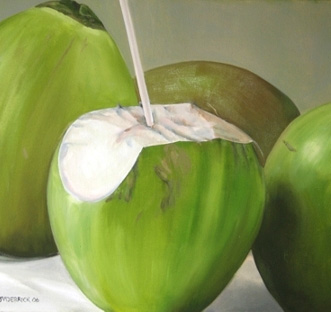 ideas for drinking coconut water and drink it to the lees