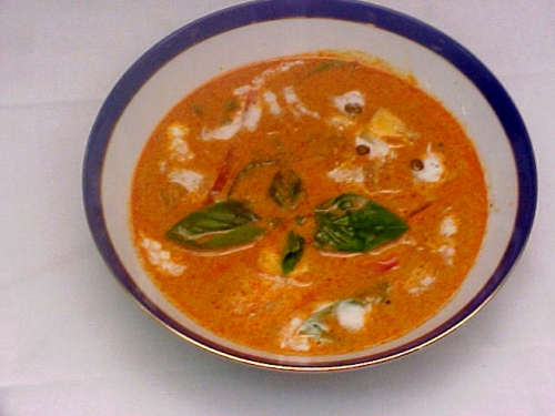 Spicy red curry