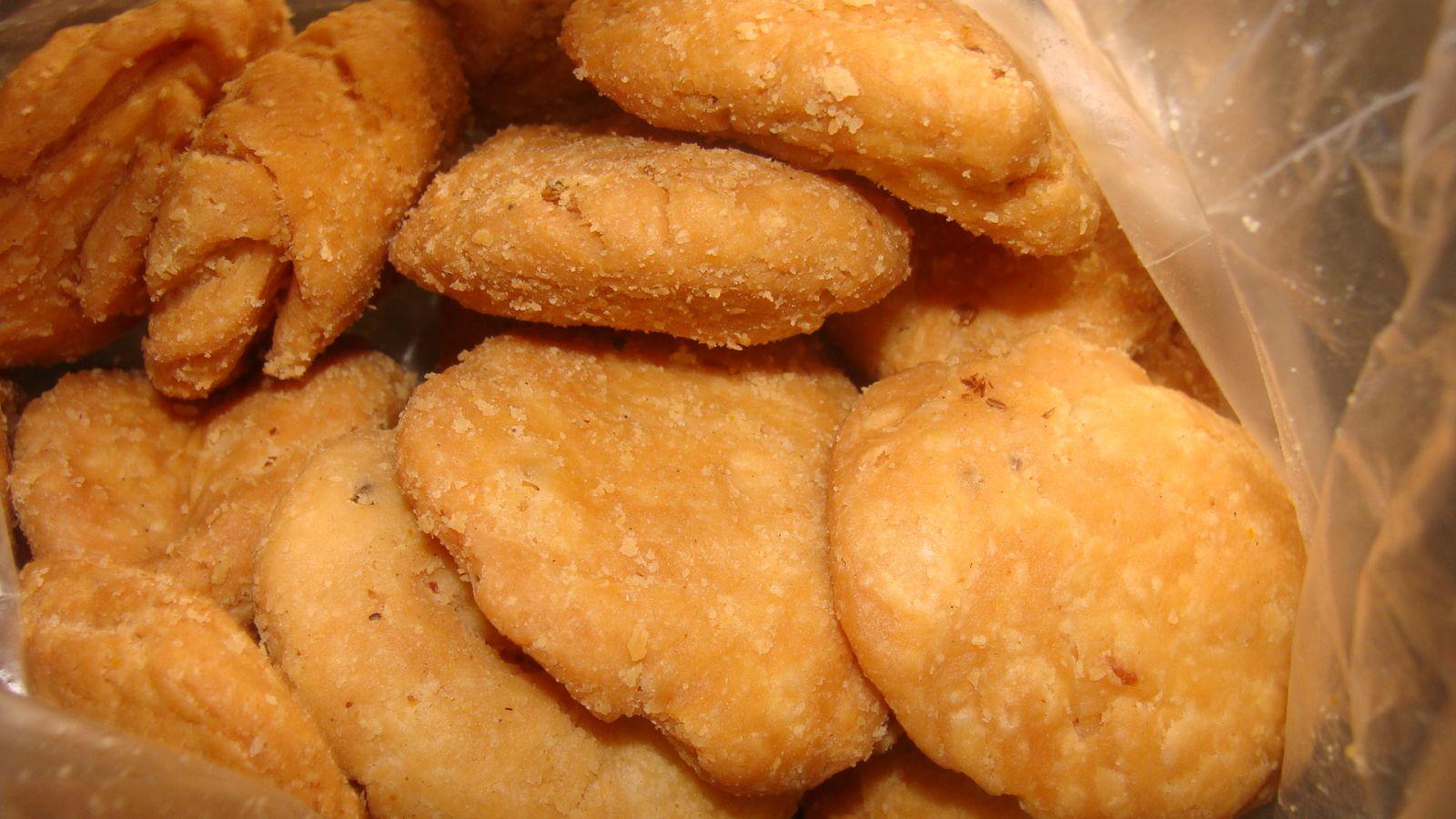 Baked mathri