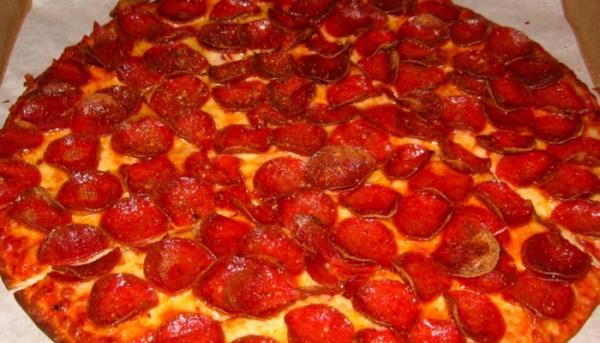 Gluten free options at Donatos at Noe-Bixby Road, Columbus, OH Has gluten free pizza.