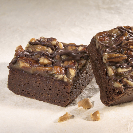 Fudge Caramel Brownies