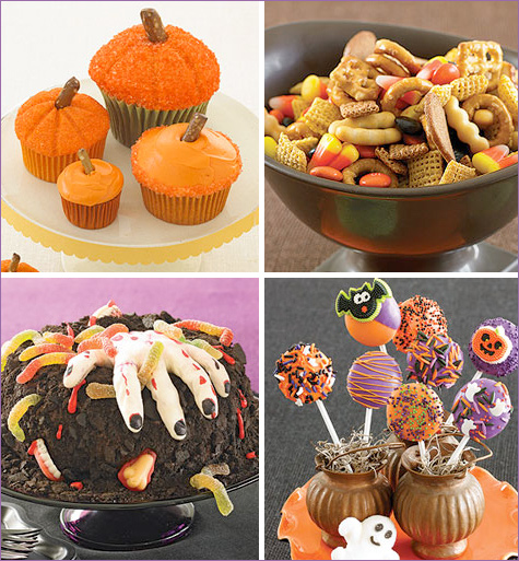 Mini Pumpkins — Halloween Party Food