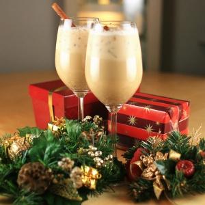 Coffee Eggnog - Coffee-Rich Christmas Mocktails