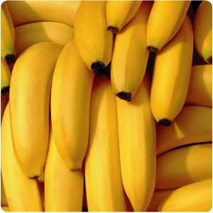 Ripened raw bananas