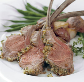 Rack Of Lamb With Herbs - Herbed Lamb Starters